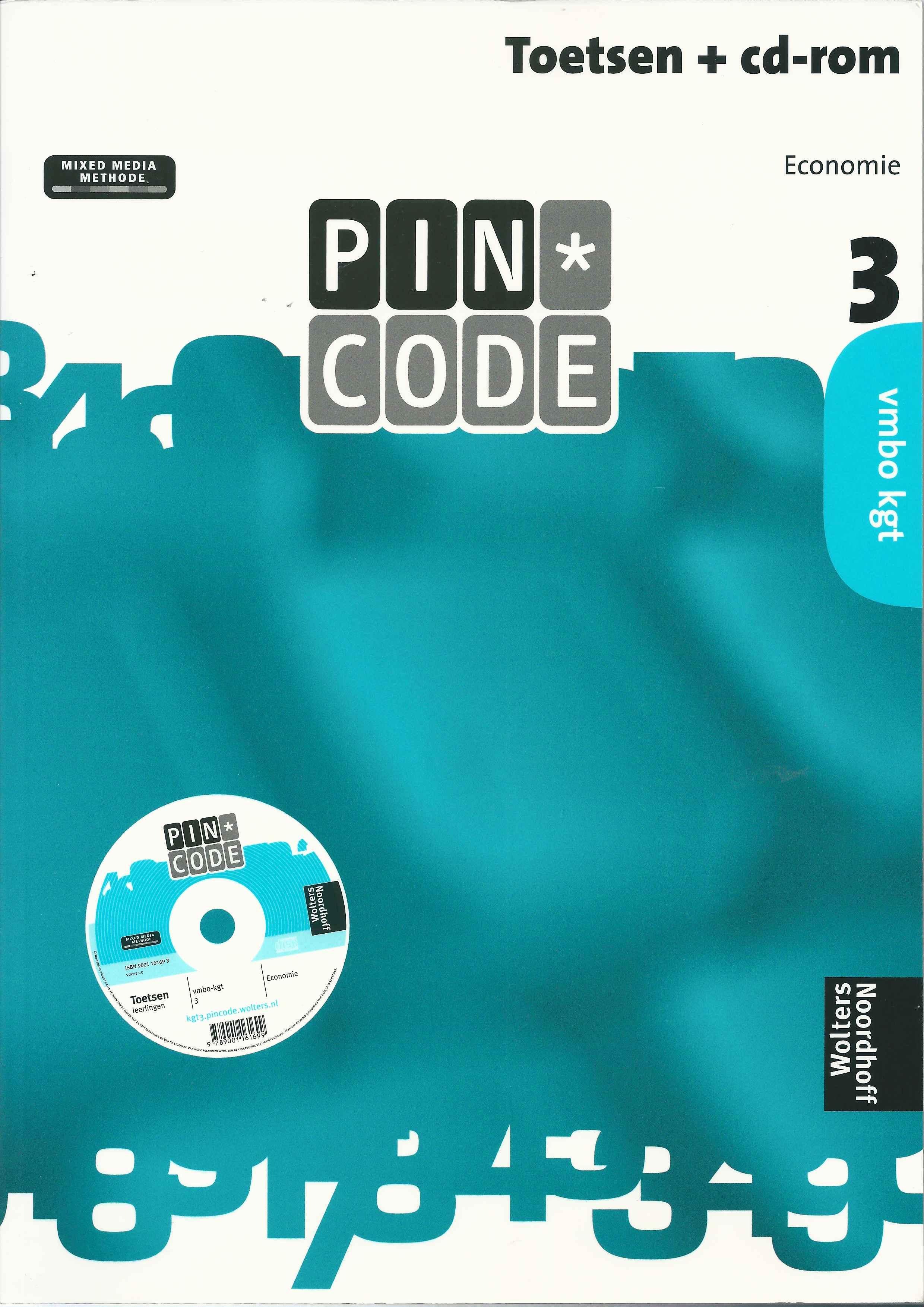 toetsenboeken + cd-rom klas 3 & 4 vmbo kgt